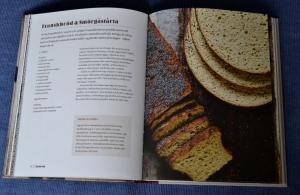 Franskbröd, exempel på ett uppslag, Recension av Bröd och kakor, baka utan gluten av Mekto Ganic, recension av Livsaptit