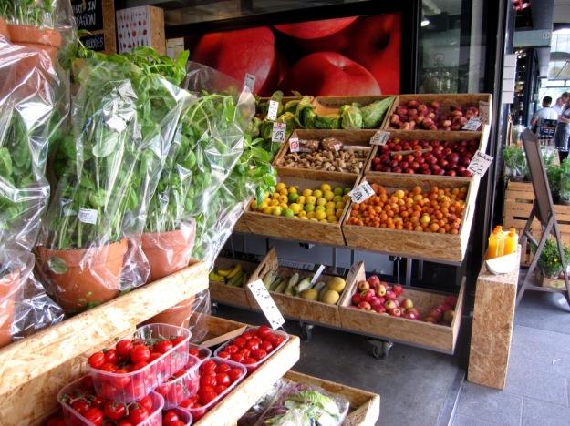 Frukt och grönt, Torvehallerne, Köpenhamn, Mattips, Reseguide, Livsaptit