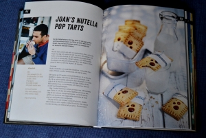 Joan's nutella pop tarts, exempel på ett uppslag, Recension av United States of Cakes av Roy Fares, recension av Livsaptit