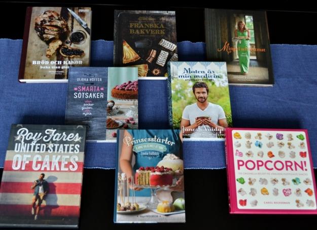 Kok- och bakböcker för recensering av Livsaptit, Recension, kokböcker vår 2014