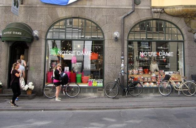 Notre Dame, underbar köks och interiörbutik i Köpenhamn, Reseguide, Livsaptit