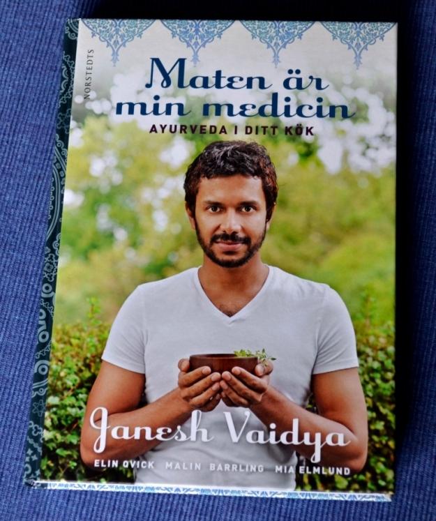 Recension av Maten är min medicin av Janesh Vaidya, recension av Livsaptit