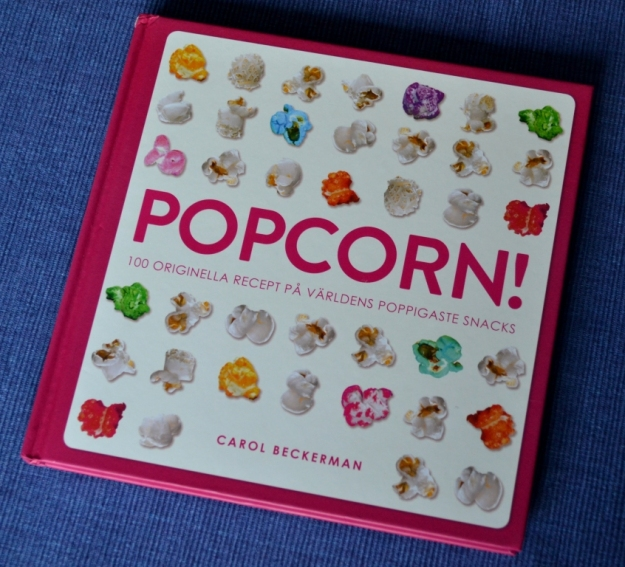 Recension av Popcorn - 100 originella recept på världens poppigaste snacks av Carol Beckerman, recension av Livsaptit