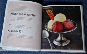 Uppslag ur bokens glasskapitel, Recension av Smarta sötsaker utan socker, gluten och mjölk av Ulrika Hoffer, recension av Livsaptit