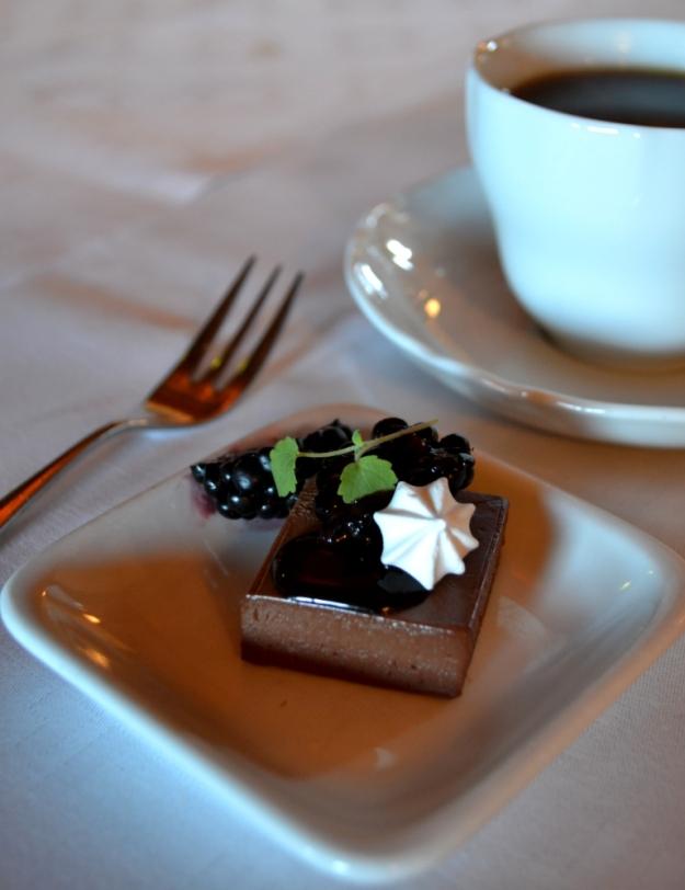 Dessert på lunch på Sjömagasinet i Göteborg, Bloggforum 2014, Livsaptit