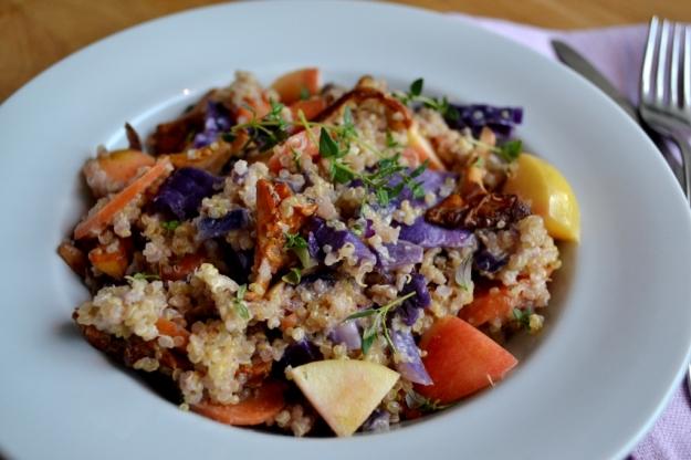 Kantarellspäckad quinoaotto med grädde, Recept, Livsaptit