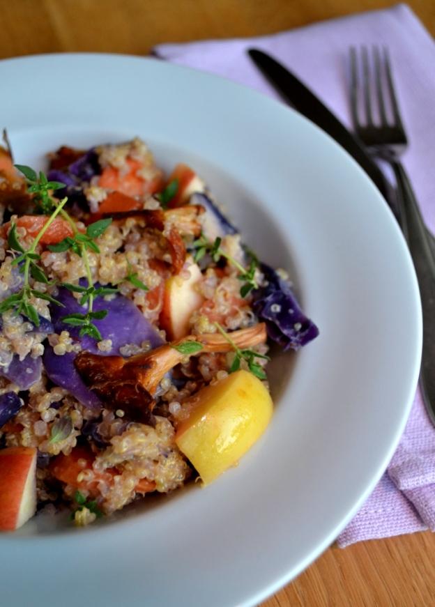 Stående, quinoaotto med höstsmaker, Recept, Meatless Monday, Livsaptit