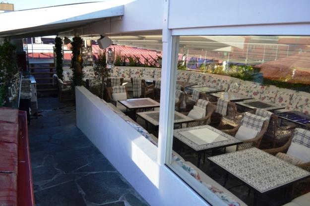 Takterrass, Hotel Pigalle, Restaurang Atelier, Bloggforum, Livsaptit