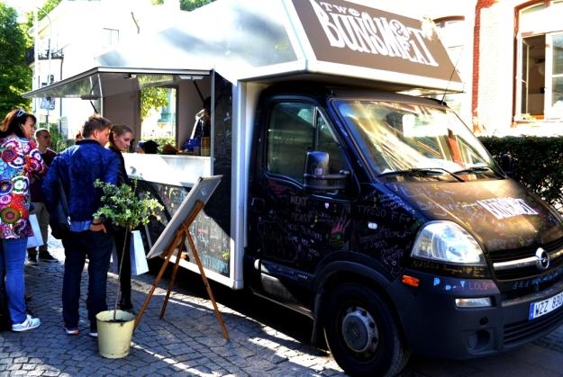 Two buns & meat foodtruck, Hamburgare, Göteborg, Matvandring, Bloggforum, Livsaptit