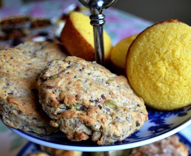 Fröiga scones, Afternoon Tea-vecka, Recept, Tema, Livsaptit