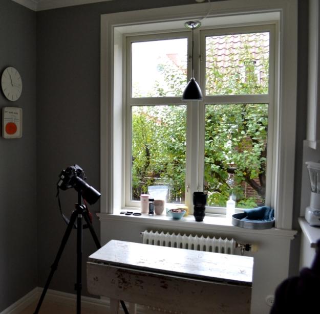 Miljö och bästa fönstret hos Dagmars kitchen, Foto- och stylingworkshop, Sonja Dahlgren, Livsaptit