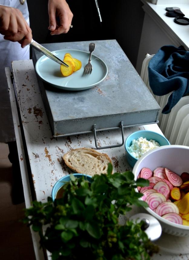 Steg för steg, Förrätt, Polkabetor och gulbetor, Foto- och stylingworkshop, Sonja Dahlgren, Livsaptit