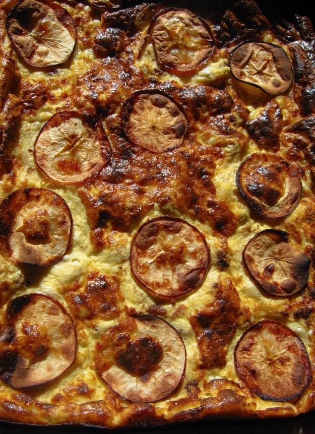 Fläskpannkaka med keso och äpple, Internationella pannkaksdagen, Recept, Livsaptit