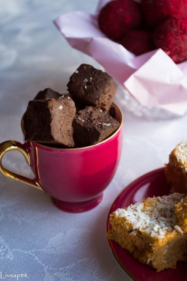 Böntryfflar, Smarta sötsaker, Glutenfritt, Mjölkfritt, Recept, Livsaptit