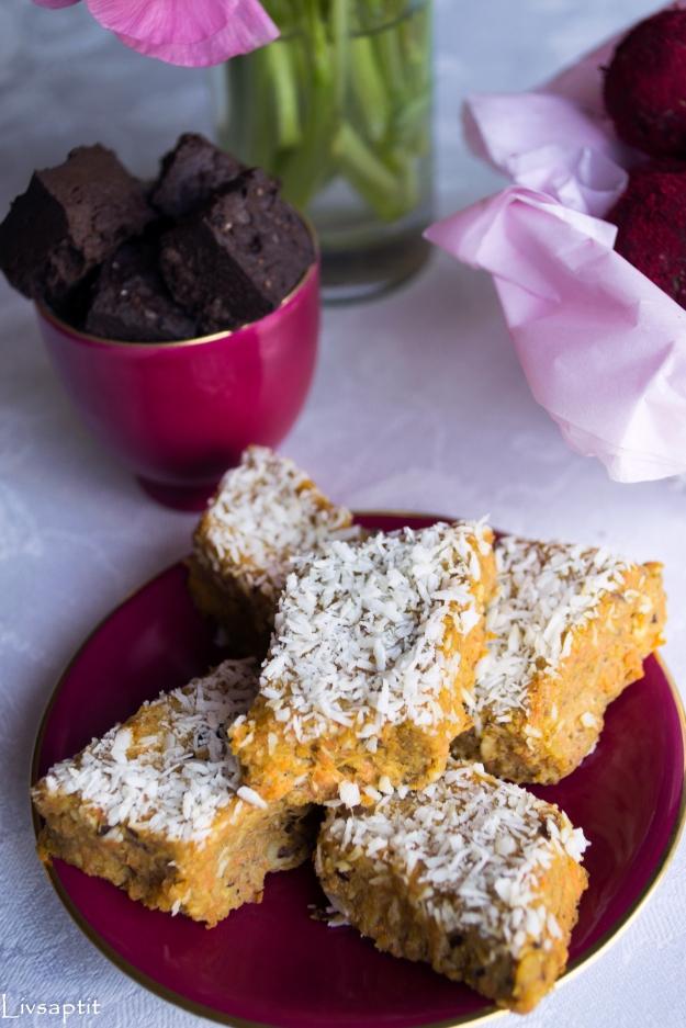 Raw morotskaka, Raw food, Smarta sötsaker, Glutenfritt, Mjölkfritt, Recept, Livsaptit
