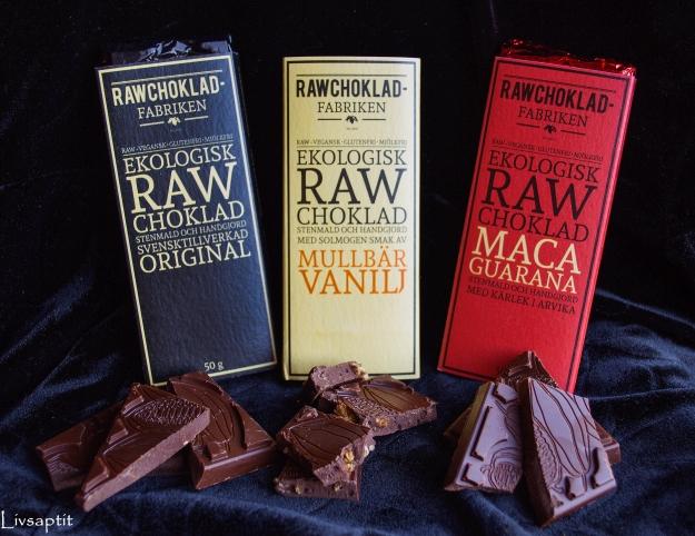 Rawchokladfabrikens fantastiska choklad, Tävling, Livsaptit