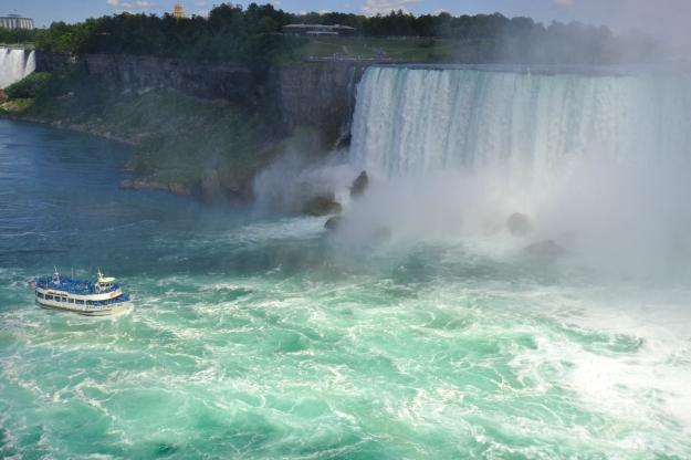 Båtturen vid Niagarafallen, USA, Livsaptit