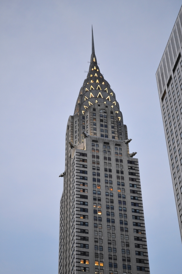 Chrystler Building, New York, Livsaptit