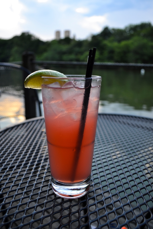 Drink i Boathouse i Central Park, Livsaptit
