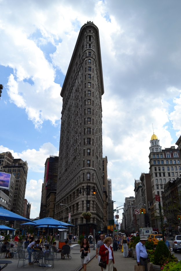 Flatiron Building, New York, Livsaptit
