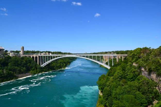 Floden nedanför Niagarafallen, Paradisiskt så att det förslår!, USA, Kanada, Livsaptit