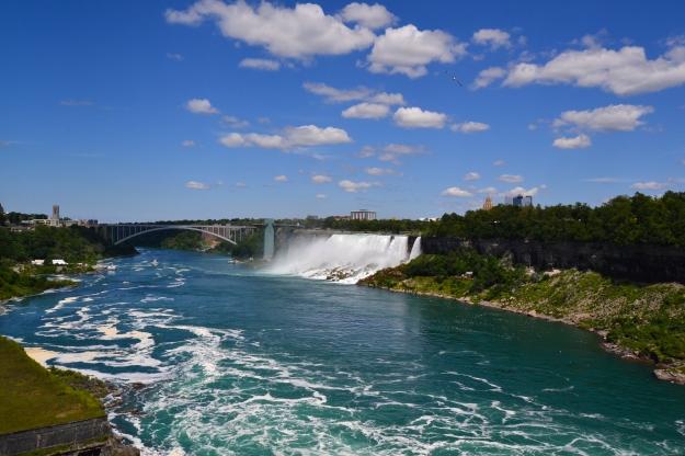 Niagarafallen, de små fallen, USA, Kanada, Livsaptit