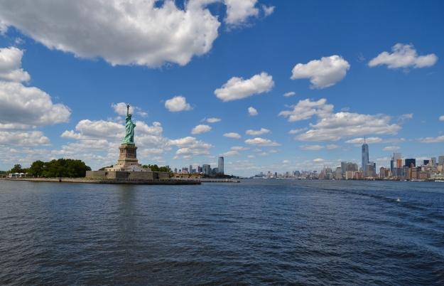 Båttur till frihetsgudinnan, New York, Livsaptit