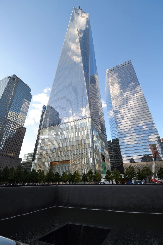 Freedom tower, Memorial 9 11, New York, Livsaptit