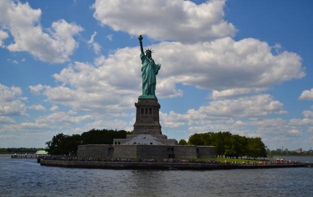 Frihetsgudinnan från båten, New York, Livsaptit