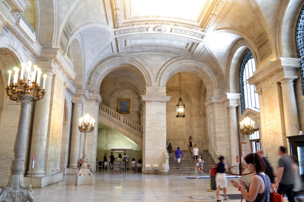 New York Public Library, New York, Livsaptit