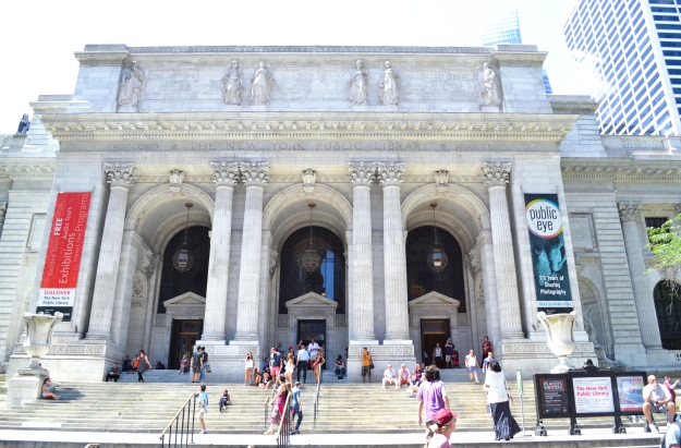 New York Public Library utifrån, New York, Livsaptit