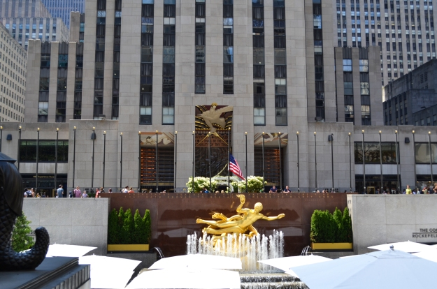 Rockefeller Center, New York, Livsaptit