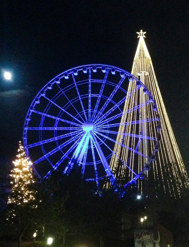 Fullmåne, Jul på Liseberg, Livsaptit