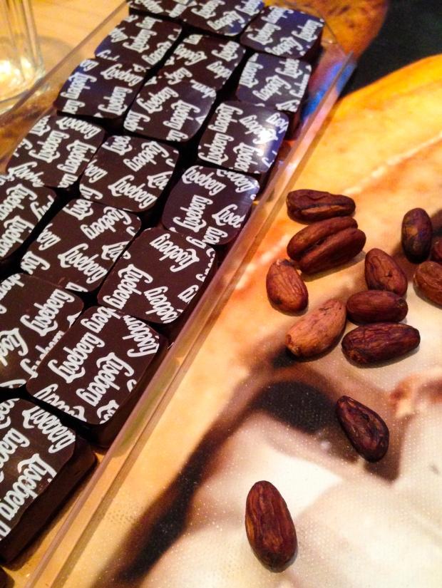 Jul på Liseberg, bloggevent, chokladprovning, Lisebergspralin och kakaoböna, Fröken Ellen, Livsaptit