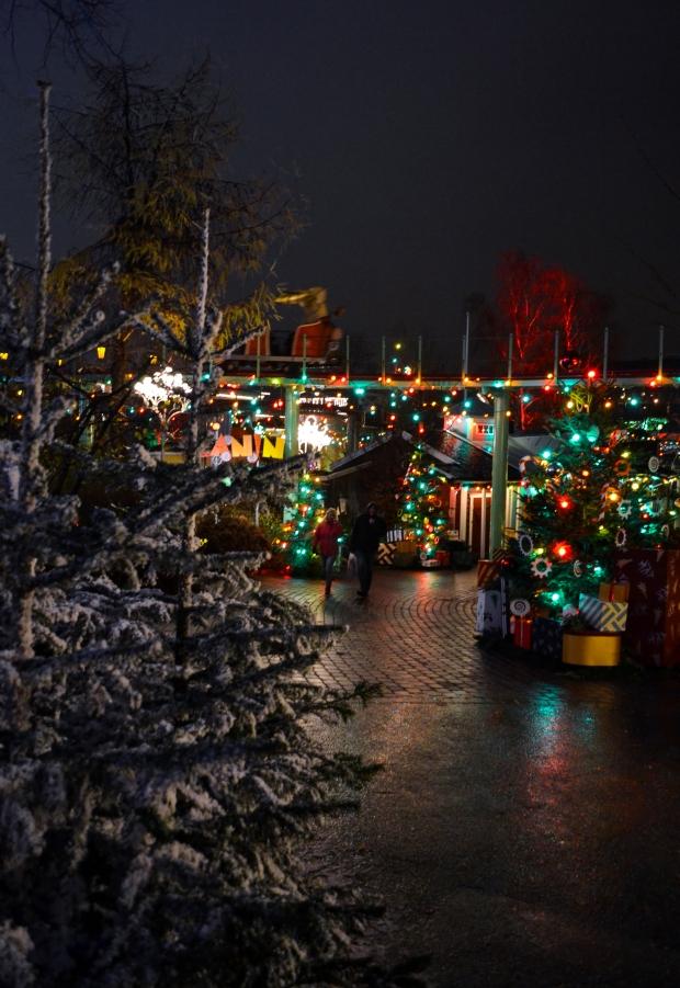 Jul på Liseberg, bloggevent, smakäventyr, färgglatt i kaninlandet, lugn kväll, Livsaptit