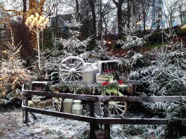 Jul på Liseberg, bloggevent, snöiga miljöer, dag, Livsaptit