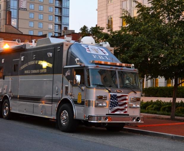 F.B.I.Mobile Command Center, Washington D. C., USA-resa, 2015, Livsaptit