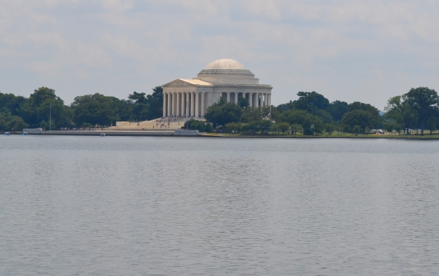 Jefferson Memorial vid Tidal Basin,, Washington D. C., 2015, Resedagbok, USA, Livsaptit