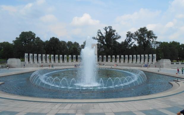 National World War II Memorial , Washington D.C., USA 2015, Resedagbok, Livsaptit