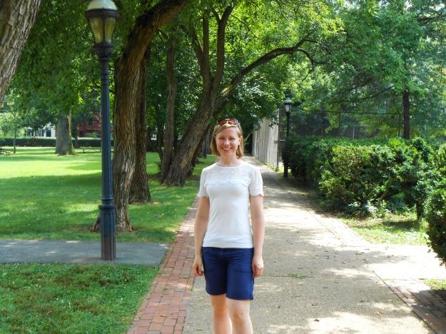 Promenad i gröna och lummiga delar av Georgetown, Washington D.C., Resedagbok, USA 2015, Livsaptit