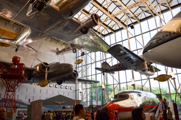 Smithsonian's National Air and Space Museum, Washington D. C., 2015, Resedagbok, USA, Livsaptit