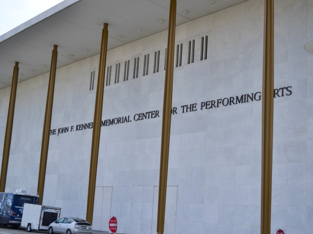 The John F. Kennedy Memorial Center for the Performing Arts, Washington D. C., Resedagbok, USA, Livsaptit