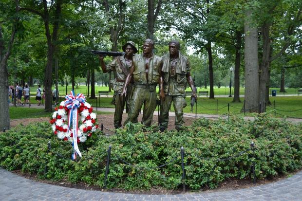 Vietnam Veterans Memorial, en del av monumentet, Washington D. C., Resedagbok, USA, Livsaptit