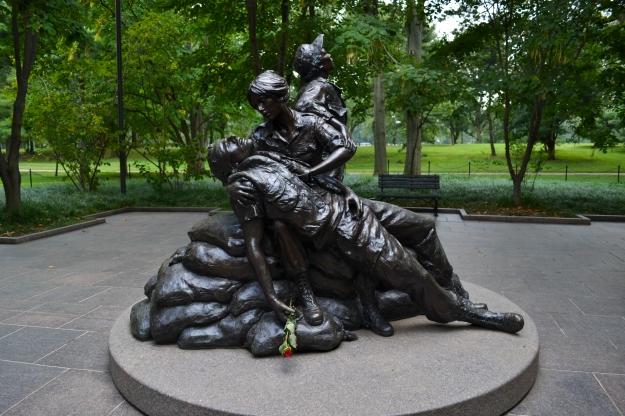 Vietnam Veterans Memorial, kvinnomonumentet, Washington D. C., Resedagbok, USA, Livsaptit