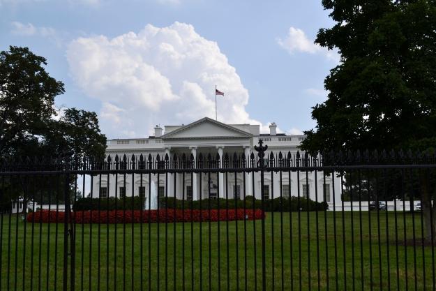 Vita huset bakifrån,  Washington D. C., 2015, Resedagbok, USA, Livsaptit