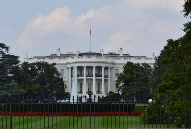 White House,  Washington D. C., 2015, Resedagbok, USA, Livsaptit