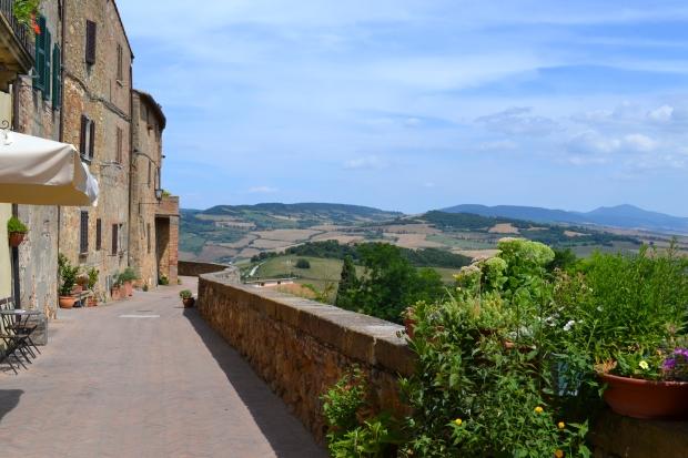 Pienza, Toscana, Livsaptit, 2016