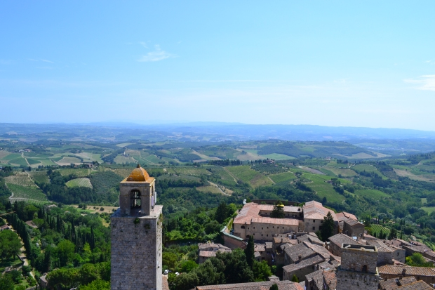 Toscanasemester 2016, San Gimignano, Livsaptit